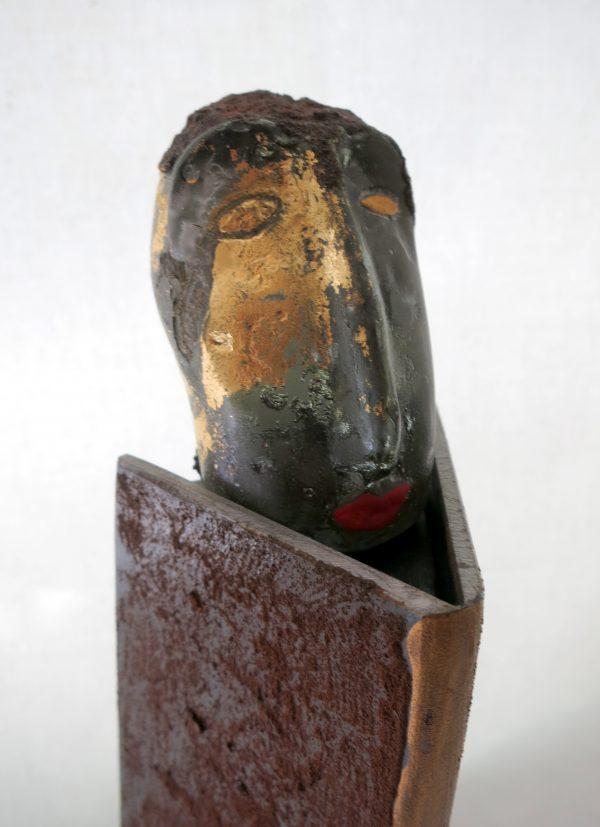 """Skulptur """"Der Alte"""""""