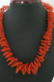 Spiralkette orange